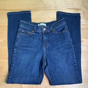 Levi's perfectly slimming straight 512 jeans size 4